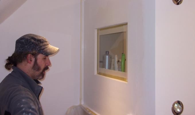 reste aus 2011 und einmal pling handwerker umbau bad beleuchtung briefkasten dusche feier. Black Bedroom Furniture Sets. Home Design Ideas