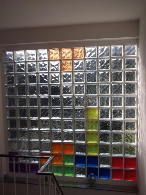 Das k nnen wir streichen allgemein umbau beleuchtung - Wand aus glasbausteinen ...